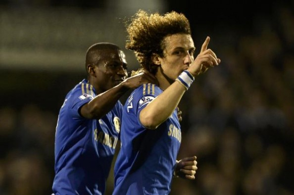 David Luiz Celebrating