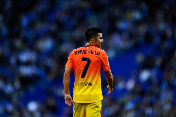David Villa 2013