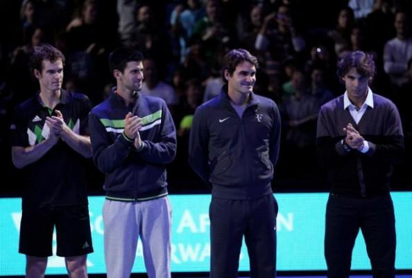 Djokovic, Federer, Murray, Nadal