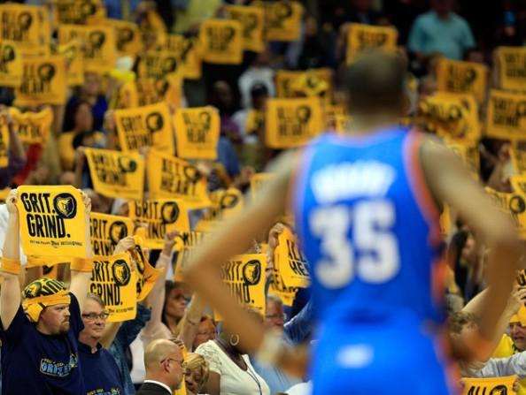 Durant & Grizzlies Fans