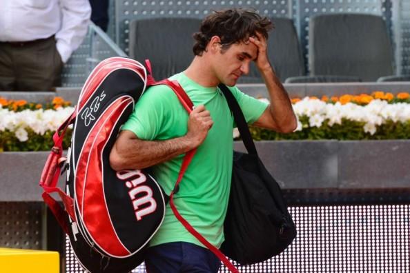 Federer Loss in Madrid