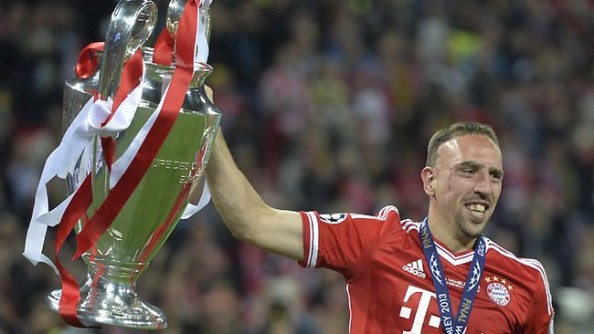 Franck Ribery European Champion