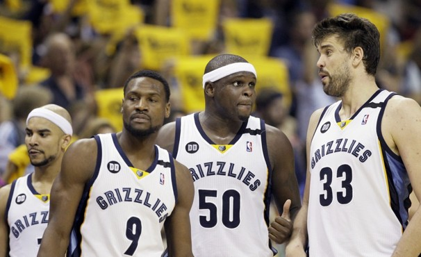 Grizzlies Losing to Spurs