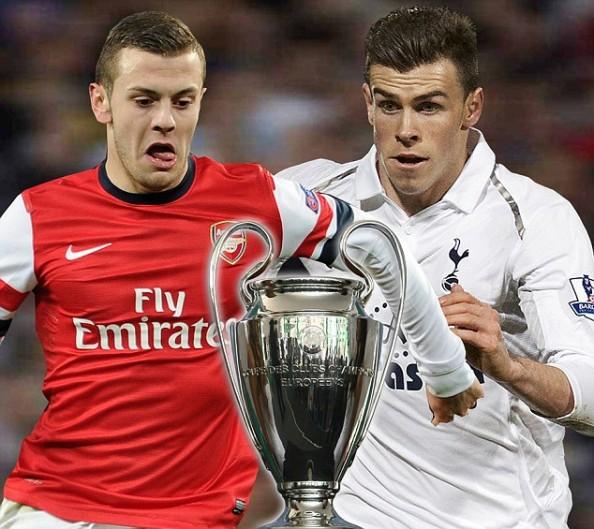 Jack Wilshere, Gareth Bale