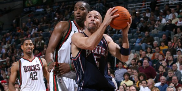 Jason Kidd Nets e1369317479353 Most NBA Playoff Triple Double Games in the Last Decade