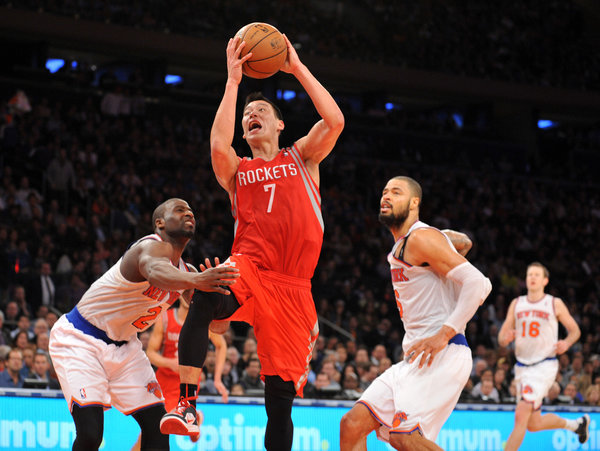 Jeremy Lin vs the Knicks