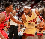 Jimmy Butler Defense on LeBron James