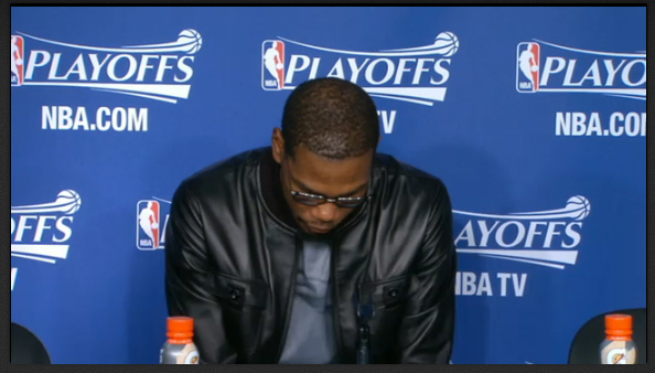 Kevin Durant SUlking