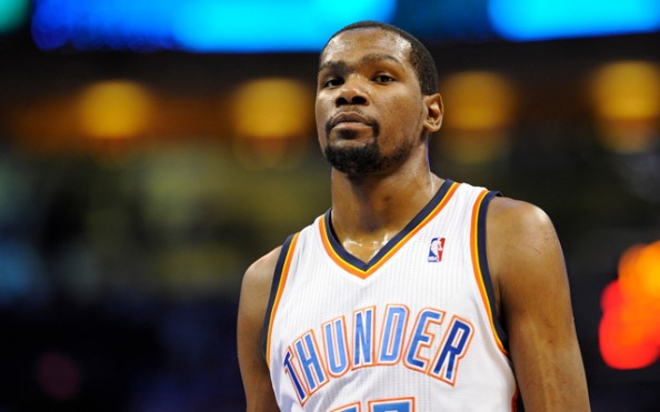 Kevin Durant scored only 21 points, shooting 5-for-21 from the field as the Thunder lost game 5 of their conference semifinals series