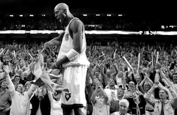 Kevin Garnett e1369315991595 Most NBA Playoff Triple Double Games in the Last Decade