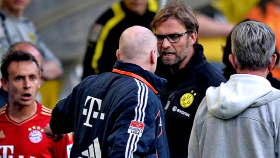 Klopp and Sammer clash