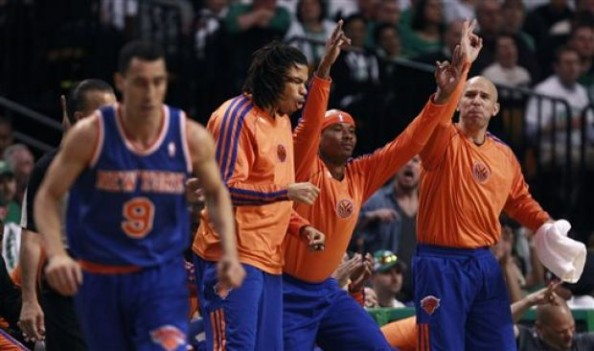 Knicks Bench