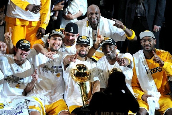 Lakers 2010 Champions e1367758603301 The NBA Playoffs Sweep   What Does it Mean?