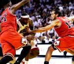 LeBron James Double Team