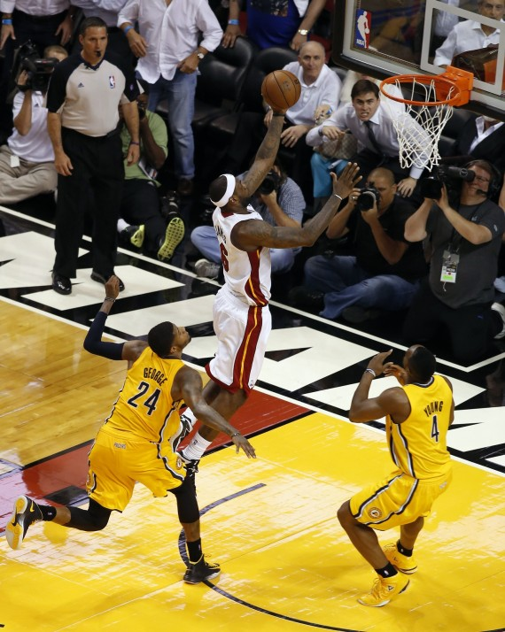 LeBron James Layup