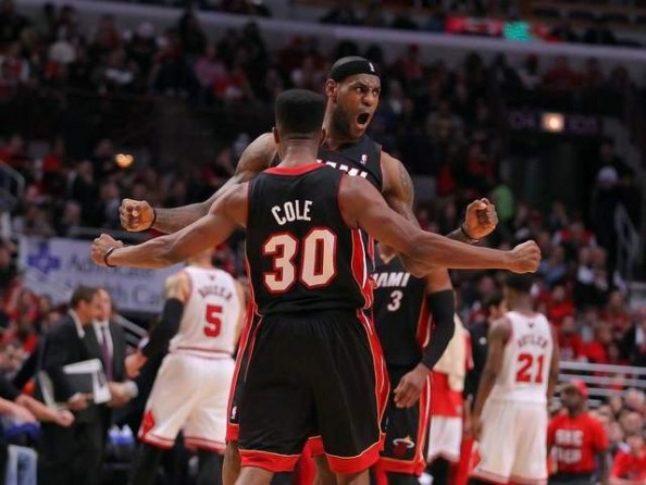 LeBron James, Norris Cole