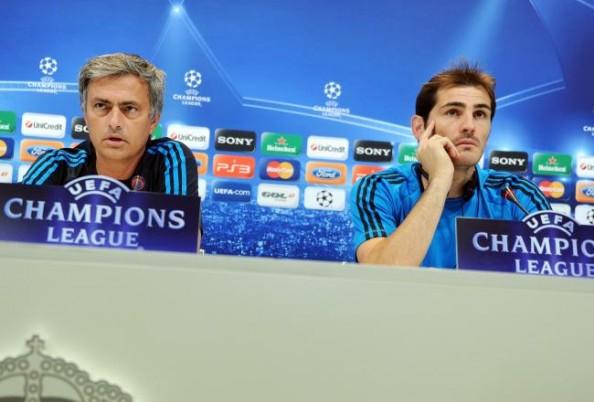 MOurinho vs Casillas