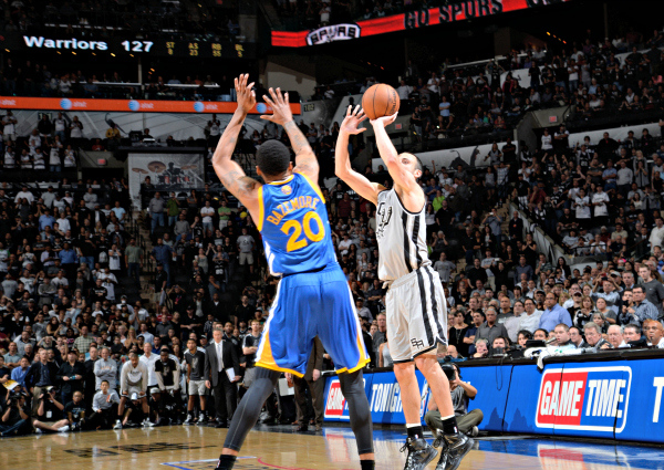 Manu Ginobili Game Winner