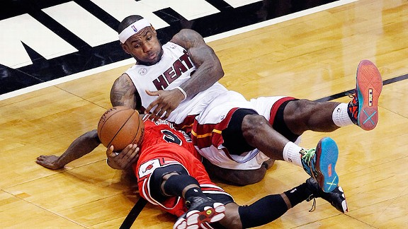 Nate Robinson, LeBron James