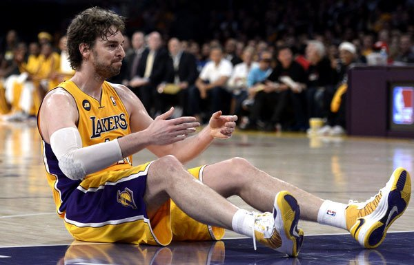 Pau Gasol Most NBA Playoff Triple Double Games in the Last Decade