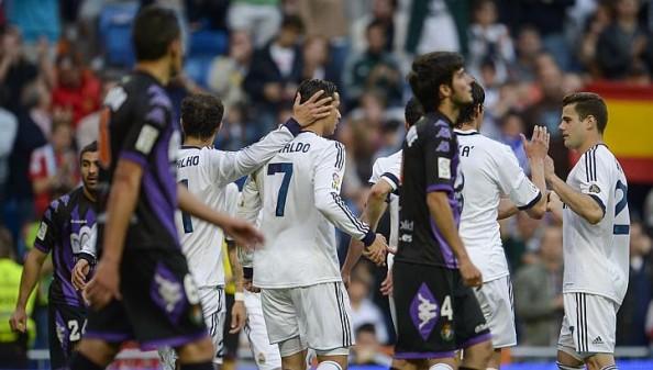 Real Madrid beat Valladolid