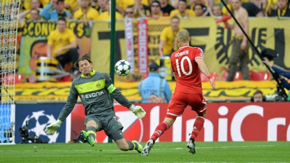 Robben to the Face