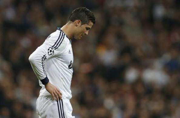 Ronaldo Looking Sad