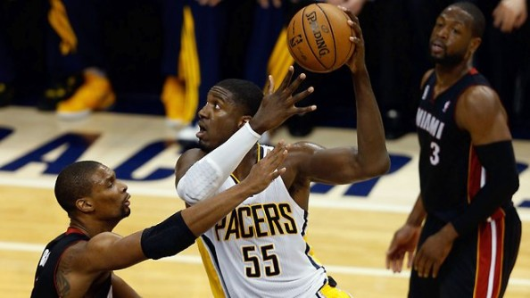 Roy Hibbert Hook Shot