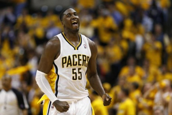 Roy Hibbert Pacers e1368971410885 Indiana Pacers, First Team in 30 Years to Reach the Conference Finals Without a Top 8 Draft Pick