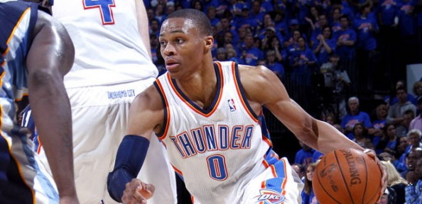Russell Westbrook e1369316384151 Most NBA Playoff Triple Double Games in the Last Decade