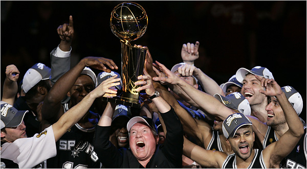 Spurs Champions 2007 The NBA Playoffs Sweep   What Does it Mean?