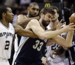 Spurs vs Grizzlies 2013