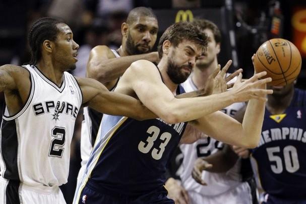 Spurs vs Grizzlies 2013