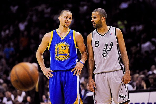 In game 5, Stephen Curry looked more hobbled than ever, scoring only 9 points. Tony Parker? Couldn't have been healthier, scoring 25.