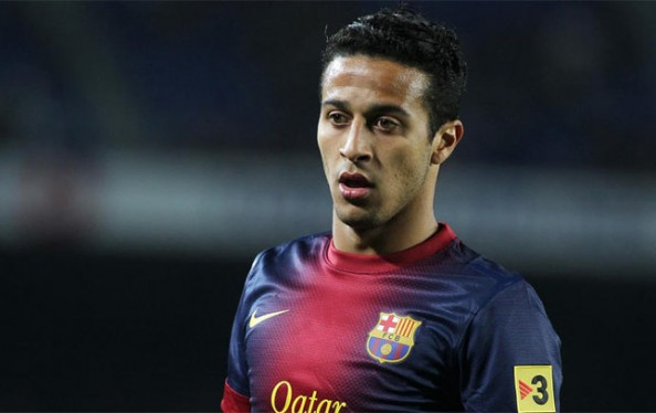 Thiago Alcantare e1369222524688 Transfer Rumors 2013   Manchester United & Manchester City Might Sign Thiago Alcantara