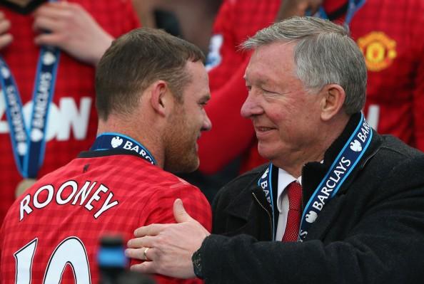 Wayne Rooney, Alex Ferguson