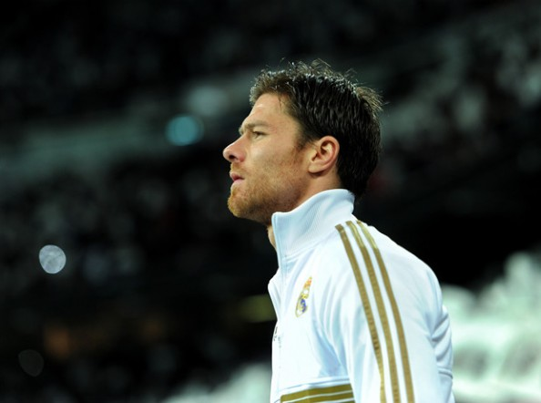 Xabi Alonso e1367563638441 Transfer Rumors 2013   Chelsea Close to Signing Xabi Alonso From Real Madrid