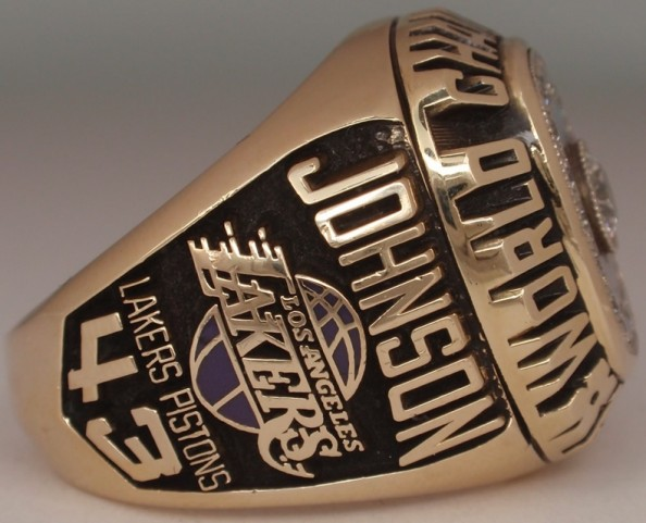 1988 NBA Title Ring