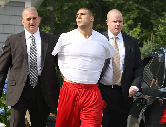 Arrest Of New England Patriots Player Aaron Hernandez