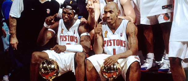 Ben Wallace Chauncey Billups Most Appearances in the NBA Finals
