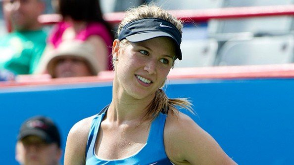 Bouchard e1372328949290 Eugenie Bouchard, The New Sexiest Tennis Player