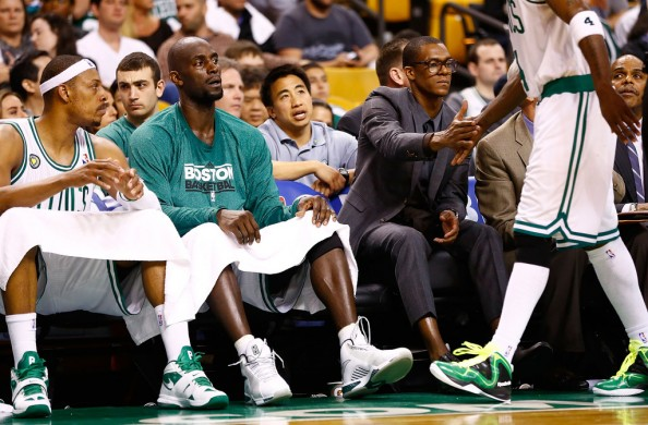 Celtics Big Three e1370957604525 Boston Celtics   Doc Rivers Might Want Rajon Rondo to be Traded