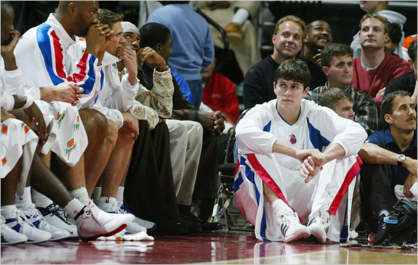 Darko Milicic 15 Biggest Busts in NBA Draft History