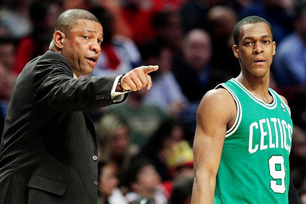 Doc Rivers, Rajon Rondo, Celtics