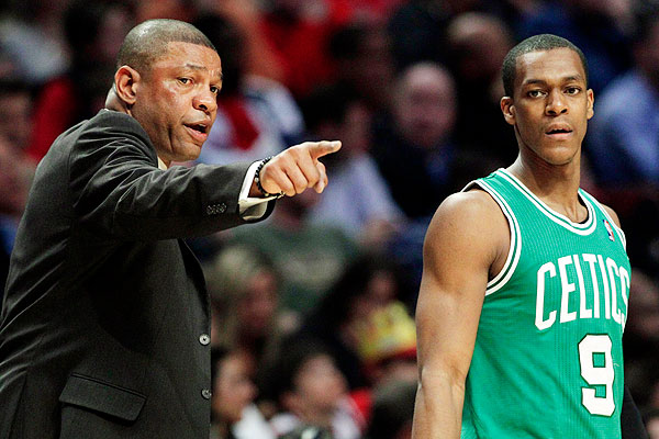 Doc Rivers Rajon Rondo Boston Celtics   Need to Make a Decision About Kevin Garnett, Paul Pierce and Rajon Rondo