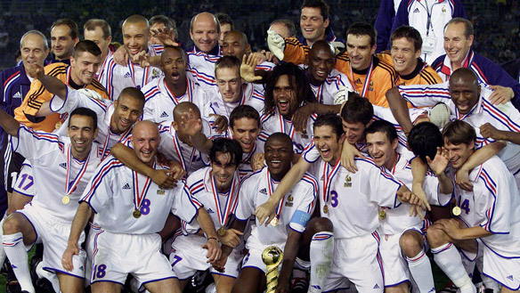 France Win 2001 Confederations Cup