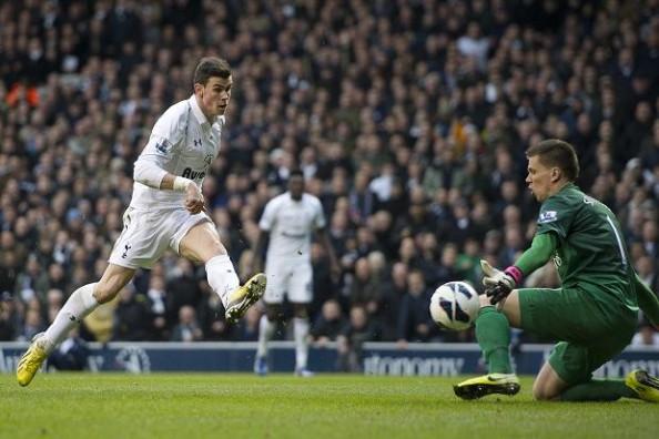 Gareth Bale shot