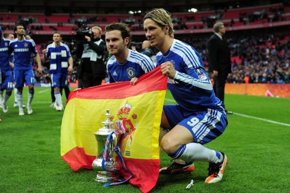 Juan Mata, Fernando Torres