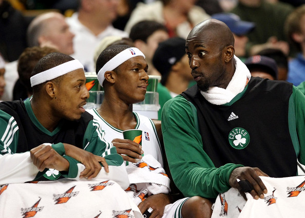 Kevin Garnett Paul Pierce Rajon Rondo Boston Celtics   Need to Make a Decision About Kevin Garnett, Paul Pierce and Rajon Rondo