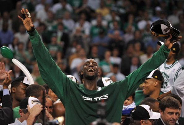 Kevin Garnett e1370439349199 Most Appearances in the NBA Finals